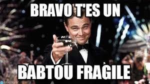 Hjjj, Bravo T'es Un sur Memegen via Relatably.com