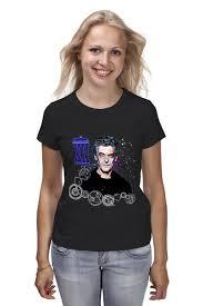 <b>Футболка классическая</b> Двенадцатый (12) Доктор Twelfth Doctor ...