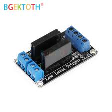 5V 12V <b>24V 2 Channel</b> DC Relay Module Solid State Low <b>Level</b> ...