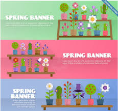 top banners templates in psd ai colorlib flowery spring banners