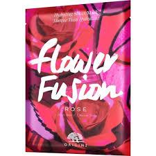 <b>Origins Flower Fusion Rose</b> Hydrating Sheet Mask   Skincare ...