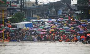 monsoon rain floods manila the atlantic