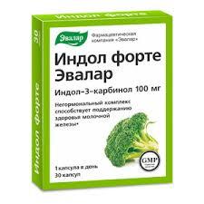 Эвалар <b>Индол Форте</b> капсулы 230 <b>мг</b> 30 шт купить по цене 639,0 ...