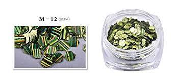 Manzilin 1 Box Colorful Shining Nail <b>Fish Scales Sequins Glitter</b> ...