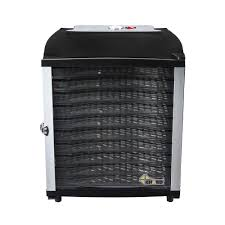 Chard <b>10</b>-Tray Black <b>Food Dehydrator</b>-DE-<b>10</b> - The Home Depot