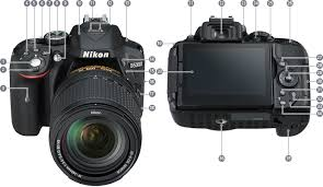 Nikon | Imaging Products | Parts and controls - Nikon <b>D5300</b>