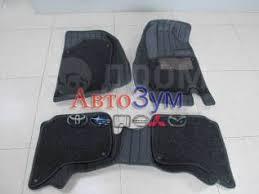 <b>Коврики</b> Комплект <b>3D</b> Toyota RUSH/BEGO Black вставка FD-055 ...