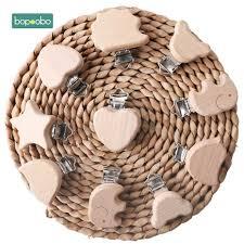 Bopoobo Beech <b>Wooden Beads</b> Teether Chewable 8 20mm Wood ...