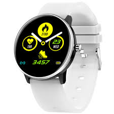 <b>New MX6 Smart Watch</b> Men Blood Pressure Heart Rate Monitor ...