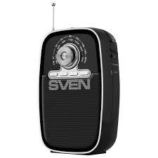 <b>Радиоприёмник SVEN SRP-445</b>, 3 Вт, FM/AM, USB, microSD ...