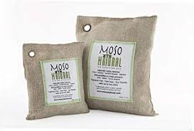 Two (2) Moso Natural Air Purifying Bags 1-200g and 1-<b>500g</b> ...