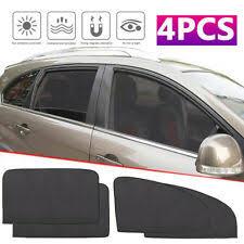 4Pcs <b>Magnetic Car</b> Sunshade UV Protection <b>Front</b> Rear Side ...