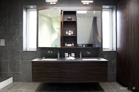 awesome ceramic tile design ideas for contemporary bathroom as well dark wooden vanity double sink also amazing contemporary bathroom vanity lighting