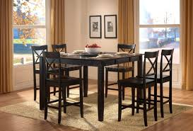 expandable dining table ka ta: furniture scenic counter height table storage black dining room