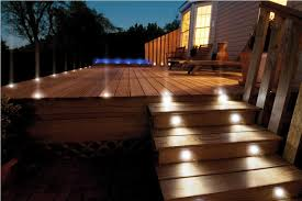 amazing lighting steps image of outdoor stair lighting deck amazing outdoor lighting