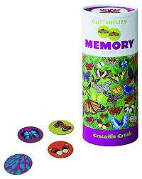 <b>Настольная игра Crocodile Creek</b> Memory Game Butterflies ...
