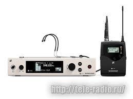 Головная <b>радиосистема Sennheiser EW 300</b> G4-HEADMIC1-RC-GW