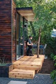 peaceful relaxation in a 92 square foot pod 4 backyard office pod 4
