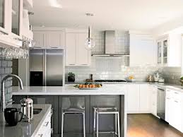 White Kitchen Ideas With Island Photos Clean Pictures  S
