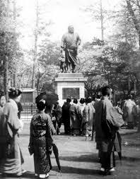 「1898年 - 上野公園にある西郷隆盛像の除幕式」の画像検索結果