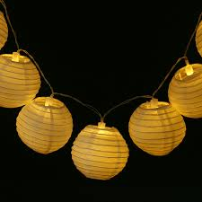 <b>20pcs</b>/set 4Inch Warm White Paper Lantern LED Colorful Hanging ...