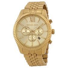 michael kors lexington chronograph champagne dial men s watch michael kors lexington chronograph champagne dial men s watch mk8281