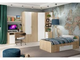 Модульная <b>детская</b> комната <b>Мика</b> Дуб сонома/Белый купить по ...