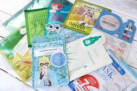 Лучшие <b>тканевые маски для лица</b>. ТОП 11. Япония, Корея. Отзывы