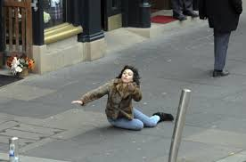 Scarlett Johansson Falling Down Is The Best New Meme In Years via Relatably.com