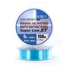 <b>Леска Yoshi Onyx Drake</b> Superline XT Blue 150м