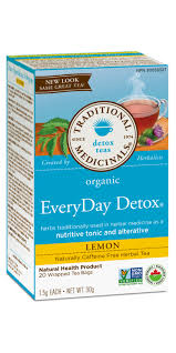 Buy Traditional Medicinals <b>Organic</b> Lemon <b>Everyday Detox Tea</b> at ...
