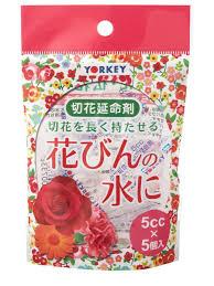 """Японское <b>удобрение """"Для срезанных</b> цветов"""" (5шт/5мл) yorkey ..."""