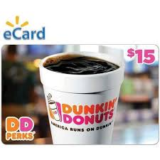 Dunkin Donuts $15 Gift Card (email Delivery) - Walmart.com ...