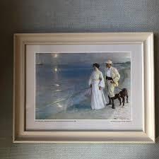 Картина <b>репродукция</b> Kroyer <b>Летняя</b> ночь на Скаген-Бич 1899 г ...