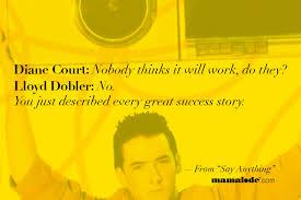 Lloyd Dobler Quotes. QuotesGram via Relatably.com
