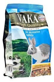 Кормовая смесь для декоративных кроликов <b>Вака High Quality</b> ...