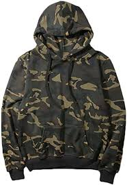 Mens <b>Stylish</b> Solid Color <b>Hooded Long</b>-<b>Sleeve</b> Pullover Funky Cool ...