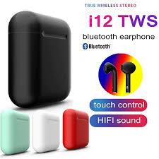 <b>2019 New</b> i12 <b>TWS Bluetooth</b> 5.0 Earphone Touch Control <b>latest</b> ...