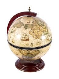 <b>Глобус бар BRIGANT Сокровища древнего</b> мира настольный d ...