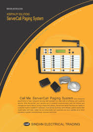 onsite wireless paging flyers table call paging system flyer for general products flyer