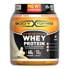 Body Fortress Super <b>Advanced</b> Whey <b>Protein Powder</b>, Vanilla, 60g ...