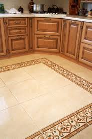 kitchen floor tile pattern ideas ceramic floor tiles with a decorative rectangular border gives the app