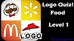 logo quiz food level answers food level 1 answers