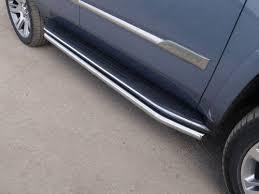 Тюнинг Cadillac Escalade 2015 <b>Защита порогов</b> 60,3 мм <b>TCC</b> ...