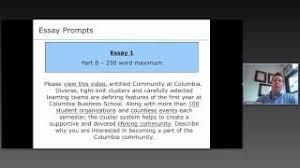 columbia business school columbia university   mba essay  columbia business school mba essay analysis     season   write like an expert