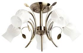 <b>Люстра MW</b>-<b>Light Флора 256018205</b>, E14, 300 Вт — купить по ...