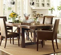 pottery barn style dining table:  images about pottery barn on pinterest table and chairs the chandelier and pottery