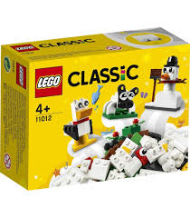 LEGO® Classic 11012 Creative White Bricks, Age 4+, Building ...