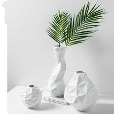 Nordic style Danish minimalist design origami <b>vase</b> geometric ...