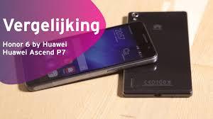 Honor 6 by Huawei vs Huawei Ascend P7 review (Dutch) - YouTube